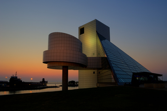 Rock and Roll Hall of Fame by David Liam Kyle