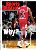 Sports Illustrated Cover - Michael Jordan