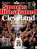 Sports Illustrated Cover - LeBron James
